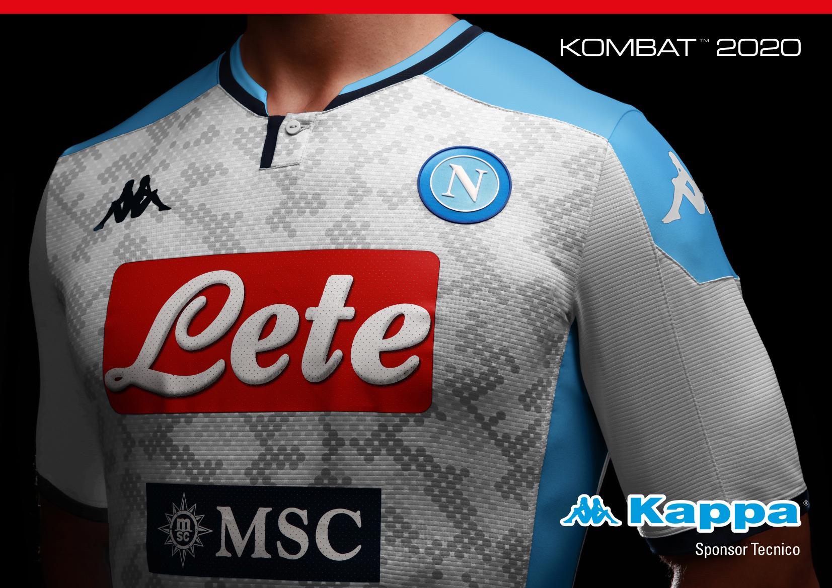 GALLERY - Ssc Napoli, ufficializzate la seconda e terza maglia ...